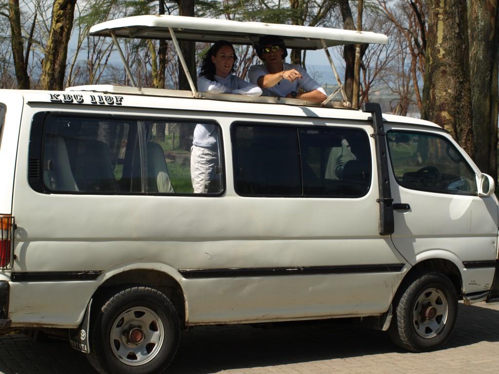 Minivan. Vista exterior. Por Udare