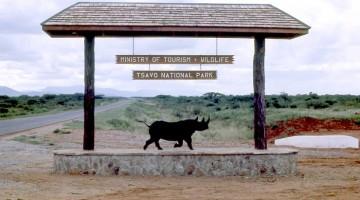 Tsavo National Park. Wikipedia