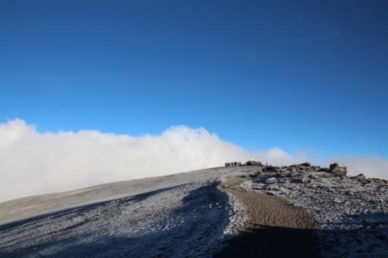 Kilimanjaro routes. By Nuria B.