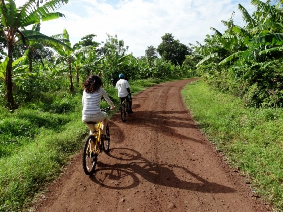 Biciclying in Mto Wa Mbu. By Udare Safari